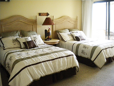 Double Beds in 4104 Bedroom