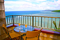 Sealodge condos in Princeville offer spectacular views of the north shore and famous Anini Beach.
